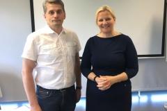 08.06.-09.06.2017 Koolitus - Koostöö arendamine ja läbirääkimine ühistulises organisatsioonis - Rando Värnik ja Ene Seidla
