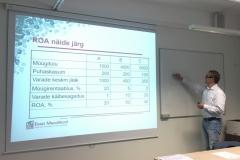 30.05.2017 Koolitus ühistu liikmele - majandusteadmised, finantsanalüüs ja kapitali kaasamine - Jüri Lehtsaar