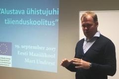 19.09.2017 Koolitus - Alustava ühistu juhi täienduskoolitus